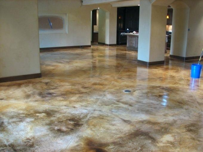 Clarksville Stained Concrete
